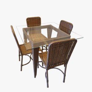 Mesa de jantar (4 lugares)