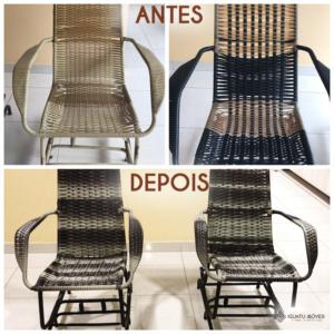 Reforma- Cadeira de embalo fixa