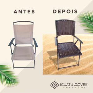 Reforma - Cadeira de praia